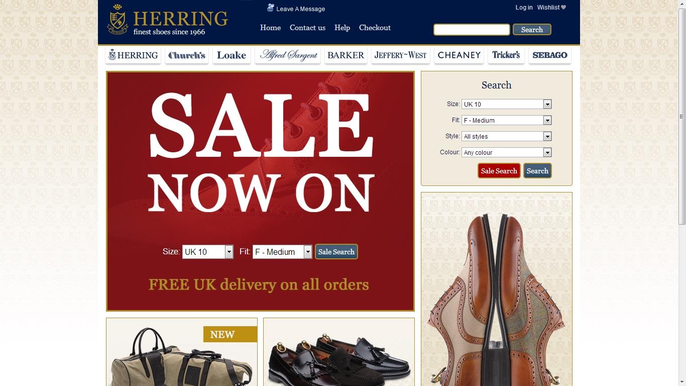 d5dbbf0c792 Brittiska nätjätten Herring har som vanligt en relativt välfylld rea, med  nedåt halva priset på vissa skor. Exempelvis kan man få en hel del modeller  från ...